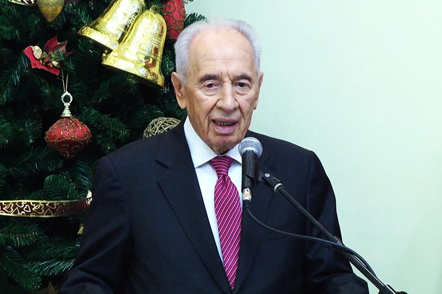 שמעון פרס - שלומי הפקות