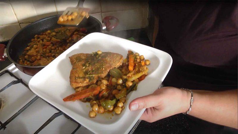 הכנת דג מרוקאי - שלומי הפקות